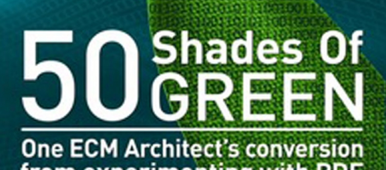 Guest Post from Adlib: New E-Book 50 Shades of Green Rewrites the Story of PDF