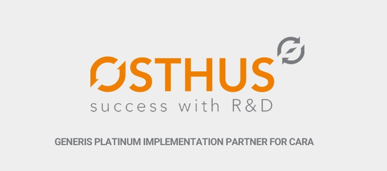 Osthus becomes Platinum Partner